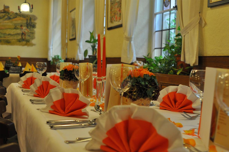 Gastraum Hotel Restaurant Wilde Rose Bamberg